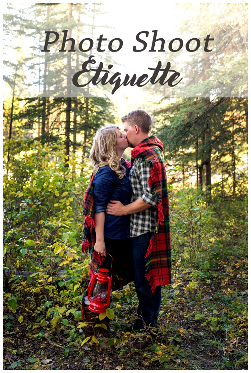 Photography Session Etiquette - Calgary Photographer