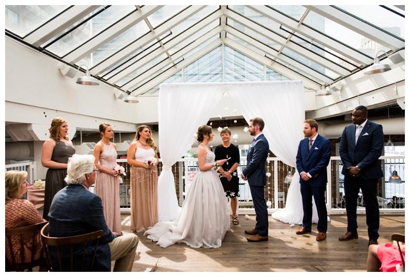 Rodney's Oyster House Wedding - Calgary Alberta
