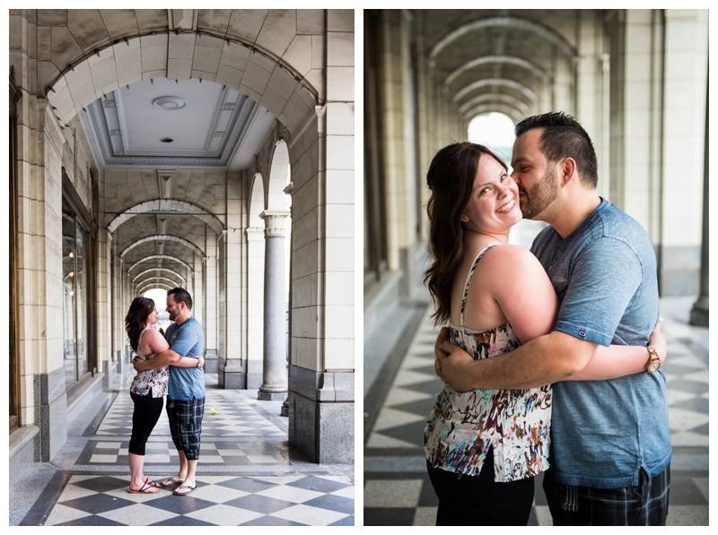 Stephen Ave Engagement Photos Calgary