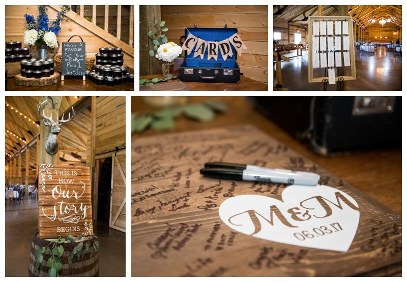 Willow Lane Barn Wedding Reception