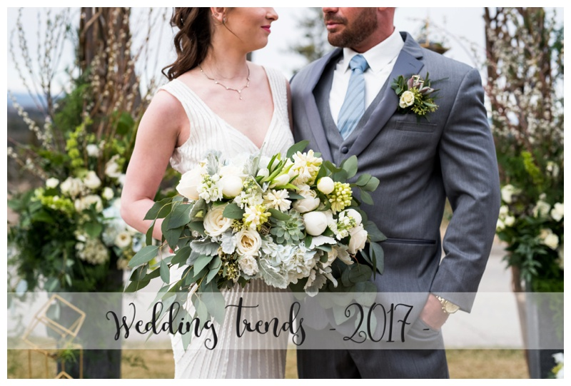 2017 Wedding Day Trends