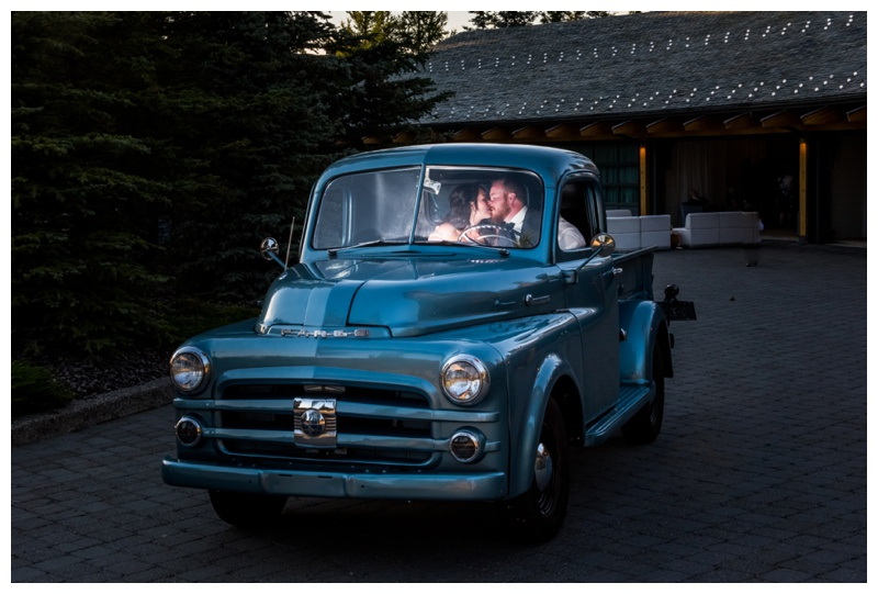 Antique Truck Wedding Photography - Calgary