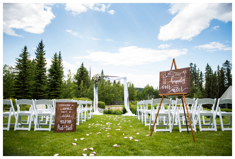 Azuridge Wedding Ceremony