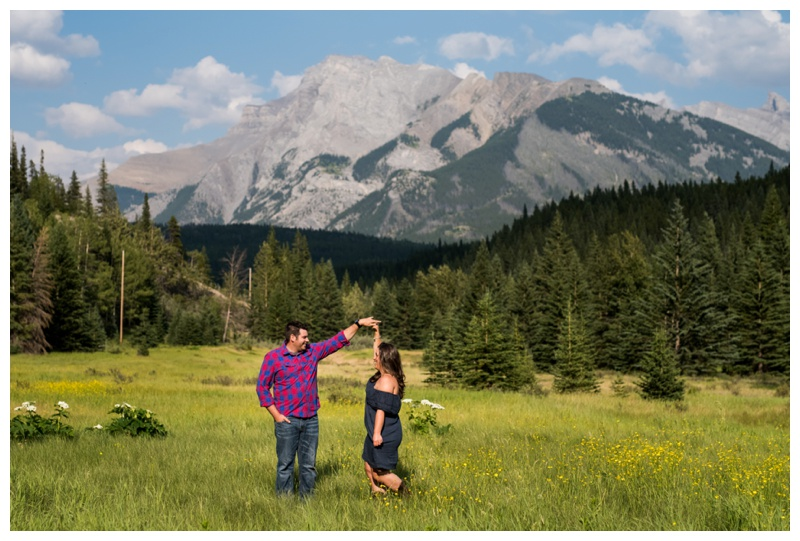 Banff 150 Engagement Photos