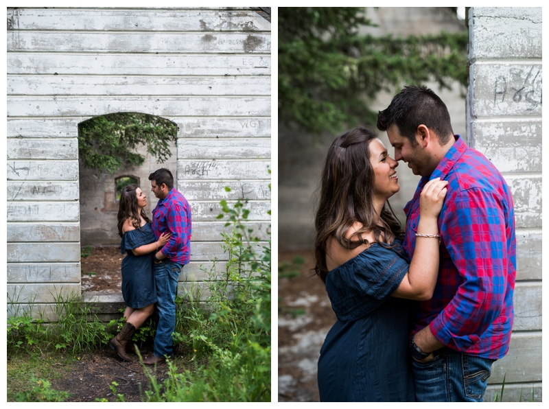 Summer Banff Engagement Photos