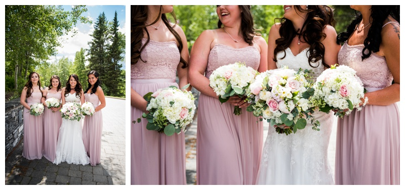 Bridesmaid Photos - Azuridge Wedding Photographer