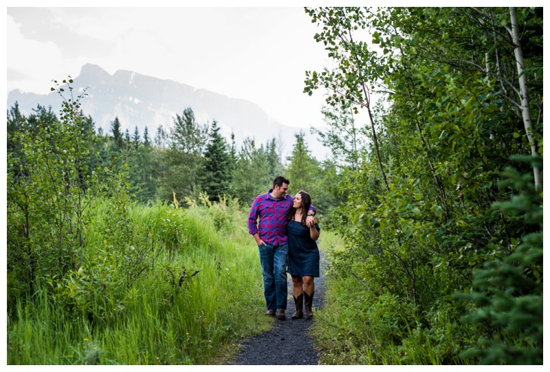 Engagement Photos Banff