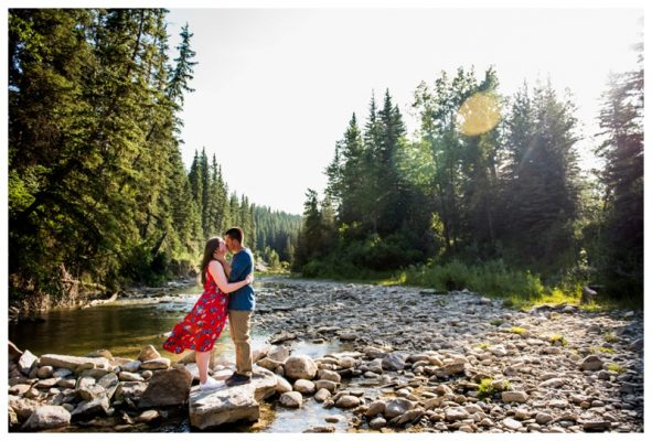 Calgary Shannon Terrace Engagement Session | Brandon & Hannah | Calgary Engagement Photos