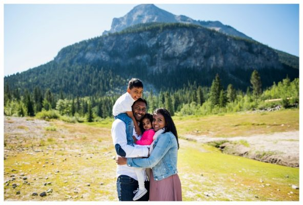 Summer Barrier Lake Kananaskis Family Session | Canmore Family Photographer
