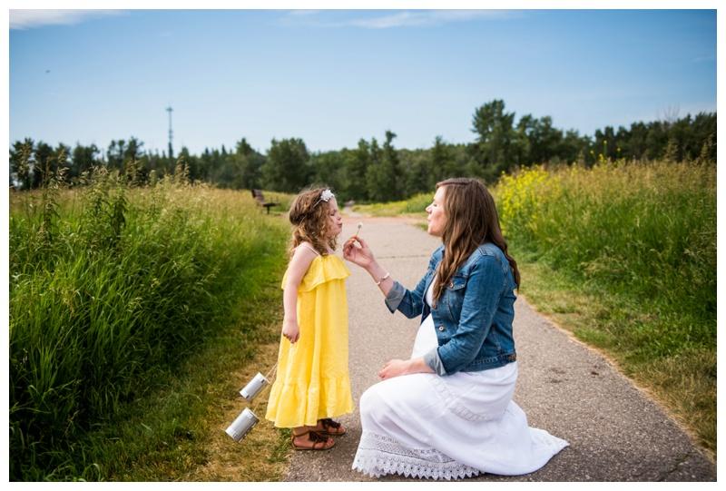 Boho Calgary Maternity Photography