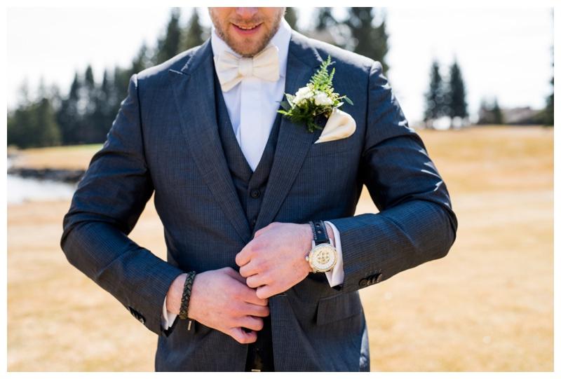 Groom Attire - Calgary Wedding