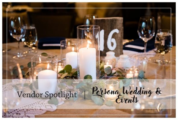 Calgary Wedding Vendor Spotlight | Persona Wedding & Events | Calgary Weddings