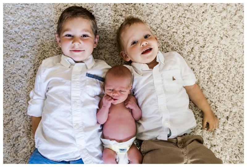 Sibling Newborn Photos Calgary