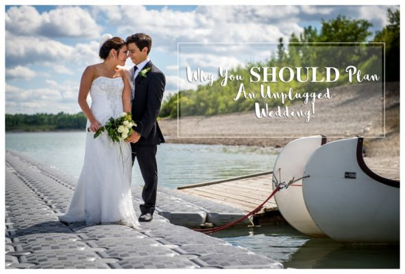 Why You Should Have An Unplugged Wedding Day | Calgary Wedding Photographer