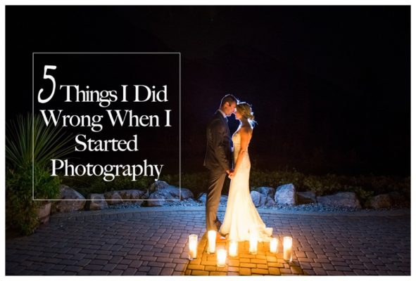 5 Things I Did Wrong When I Started Photography | Calgary Engagement Photographer
