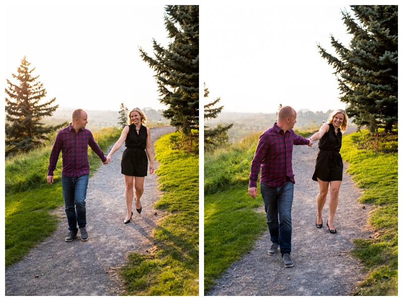 Calgary Engagement Photos - Roatry Park