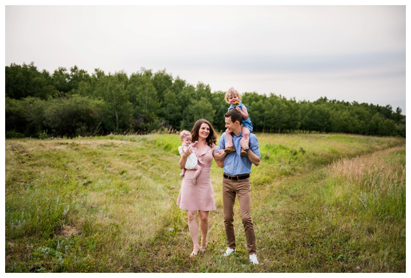 Calgary Summer Family Photos