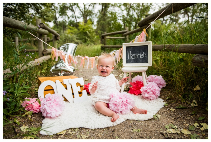 Calgary First Birthday Photography