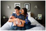 Calgary In Home Lifestyle Newborn Photography Session | Baby Sawyer | Calgary Newborn Photographer