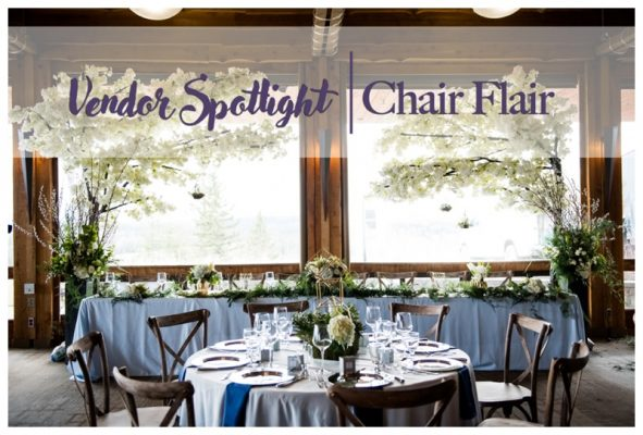 Vendor Spotlight – Chair Flair | Calgary's Best Wedding Vendors