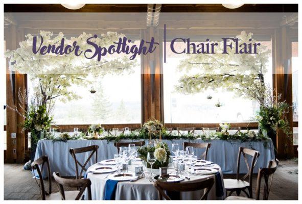 Vendor Spotlight – Chair Flair | Calgary's Best Wedding Vendors