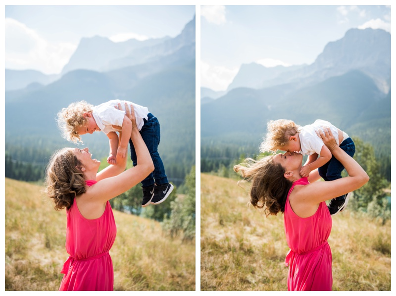 Family Photographer Canmore Alberta