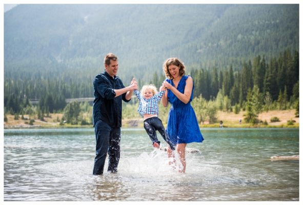 Quarry Lake Family Photography | Canmore Family Photographer