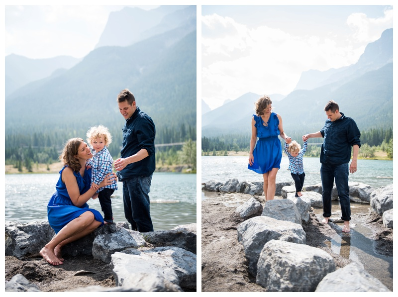 Summer Canmore Family Photos