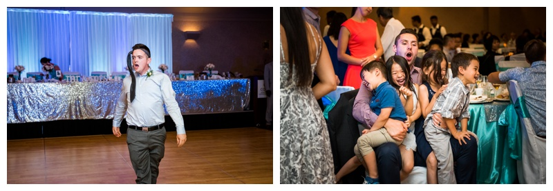 Wedding Reception Photos - Coast Plaza Hotel Calgary