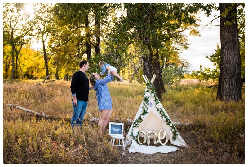 1st Birthday Family Photography Calgary