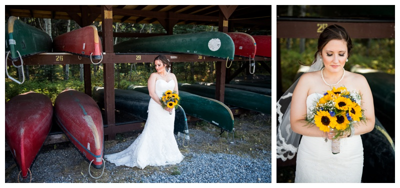 Bridal Portraits - Canmore Wedding Photographer