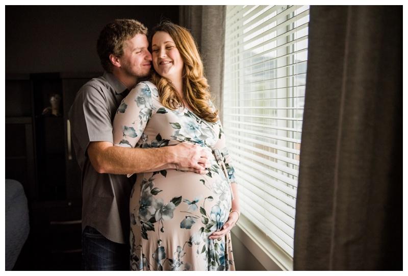 Calgary At Home Maternity Photographer