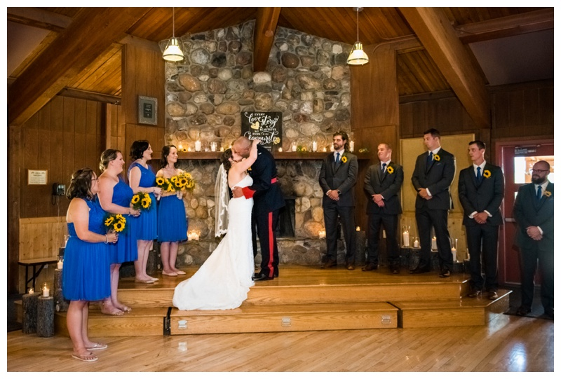 Camp Cheif Hector Wedding - Canmore Alberta