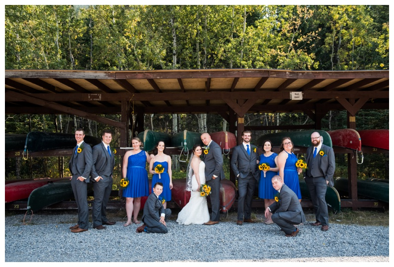Camp Chief Hector Wedding Photography Canmore