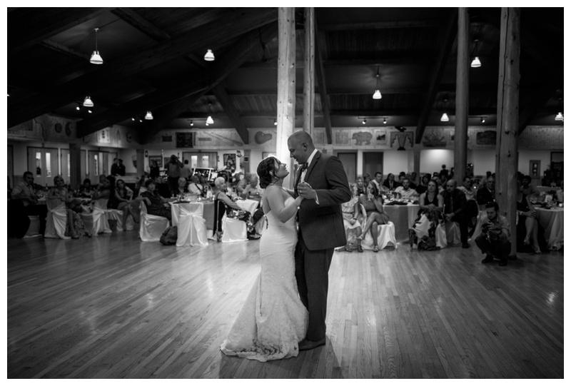 Camp Chief Hector Wedding Reception - Canmore Alberta