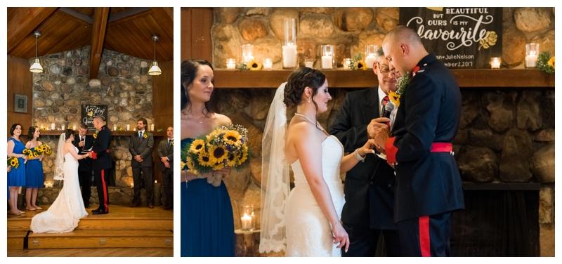 Canmore Wedding Ceremony Photos
