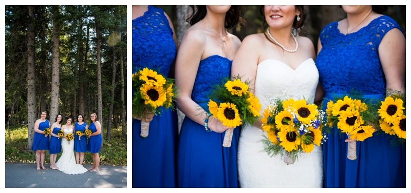 Fall Canmore Wedding
