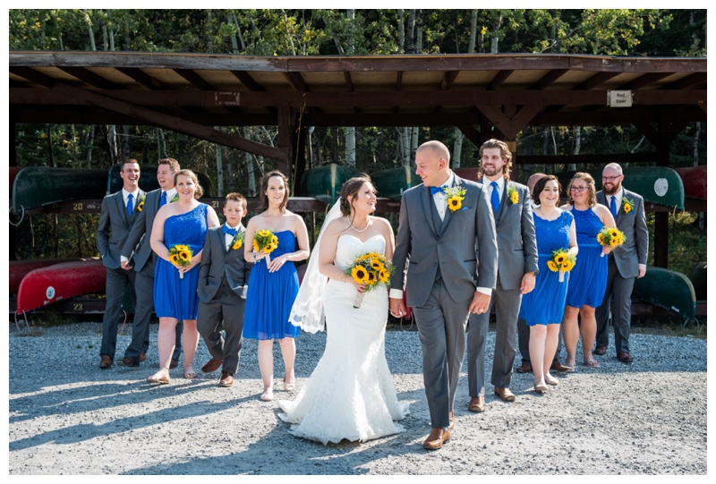 Wedding Party Photography - Camp Cheif Hector Wedding