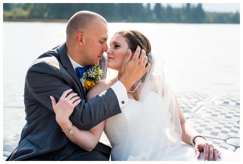 YMCA Camp Chief Hector Wedding - Canmore