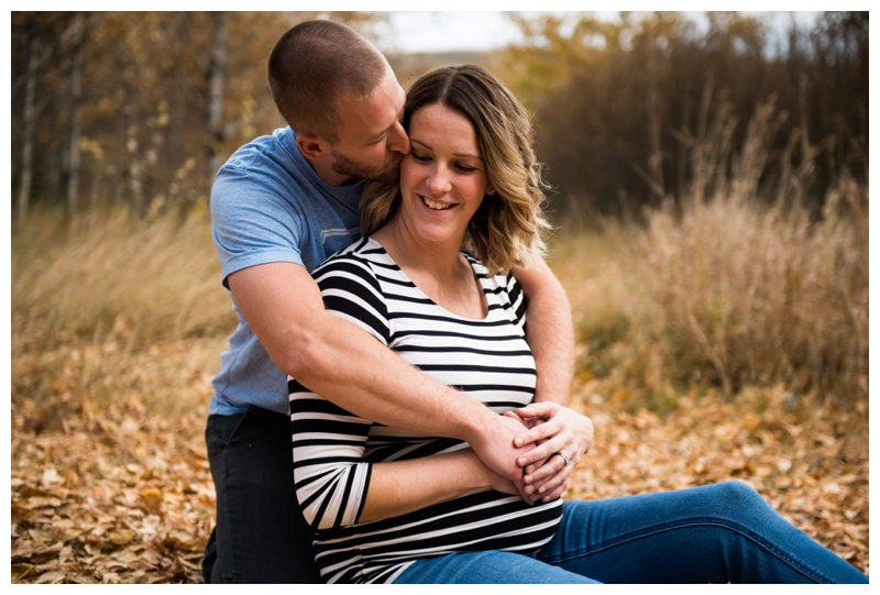 Autumn Maternity Sesson - Calgary Alberta