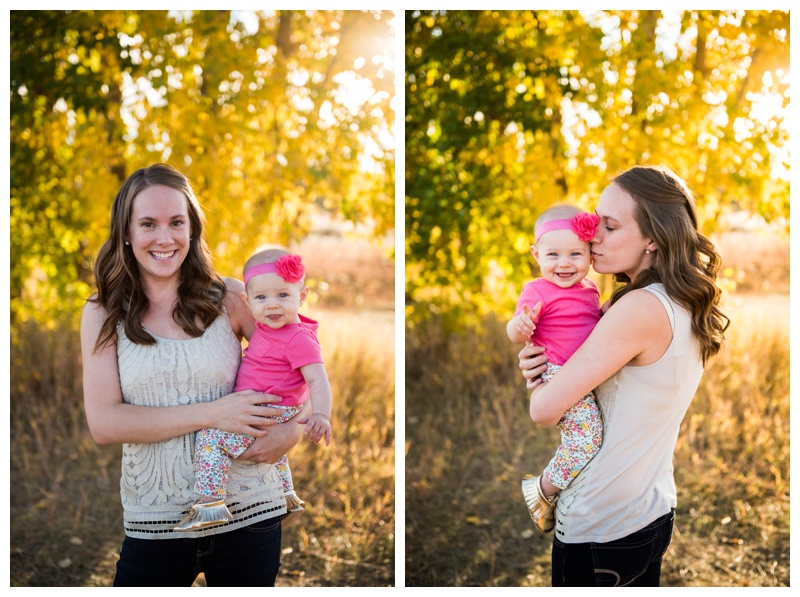 Autumn Fish Creek Park Family Photos