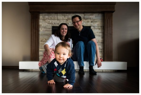 Cochrane In Home Family Photography | The Nouis Family | Cochrane Family Photographer