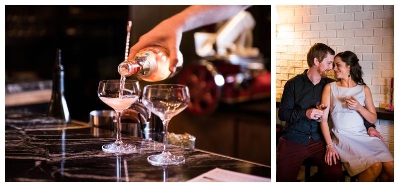 Calgary Frenchies Wine Bar - Calgary Wedding Photographer