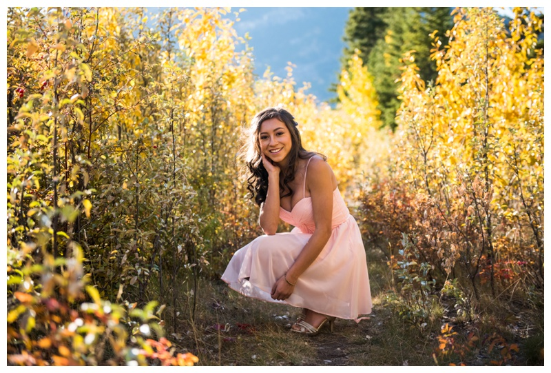 Canmore Quinceanera Photos