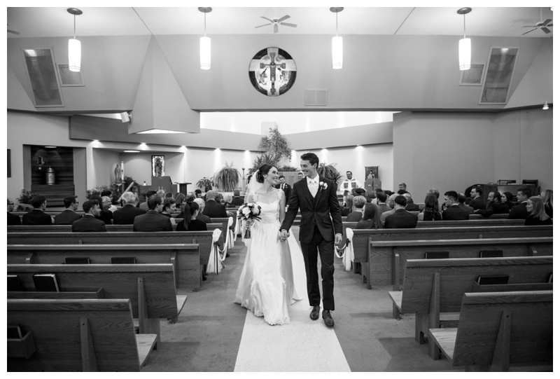 Church Wedding Ceremony - Calgary Alberta