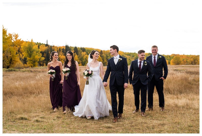 Fall Calgary Weddings - Calgary Wedding Photographer