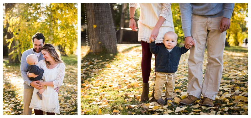 Fall Family Photos Calgary