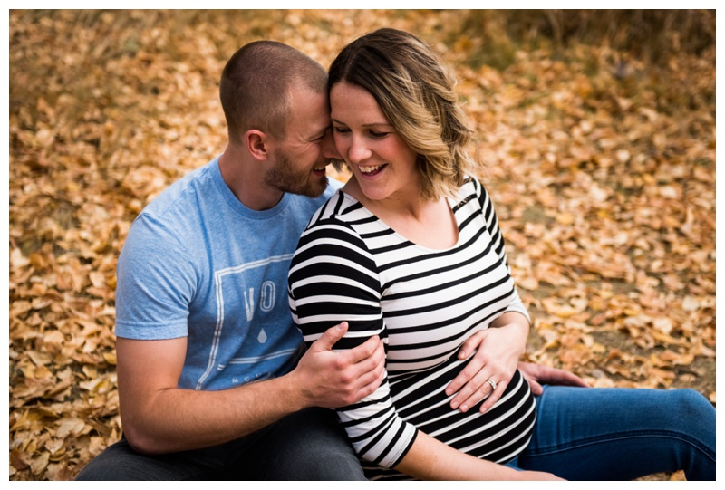 Fall Maternity Session - Calgary Alberta