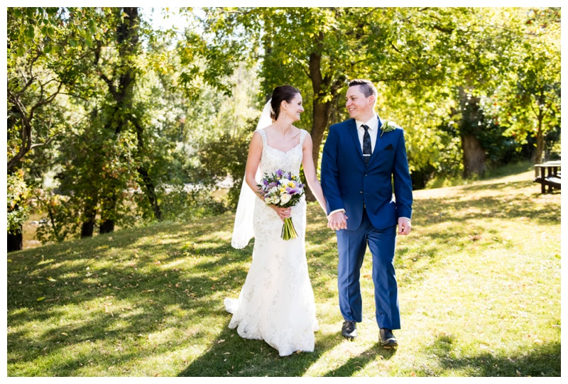 Fall Wedding Photography Calgary
