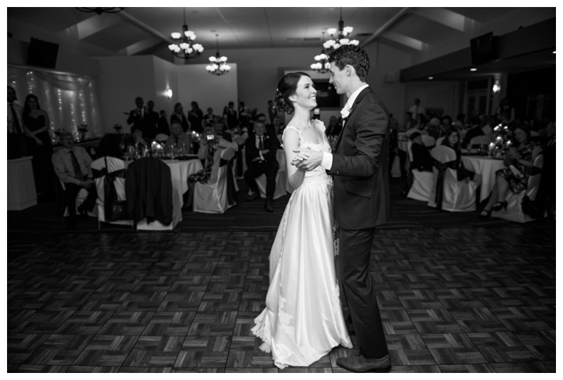First Dance Wedding Photography - Carmoney Golf Course